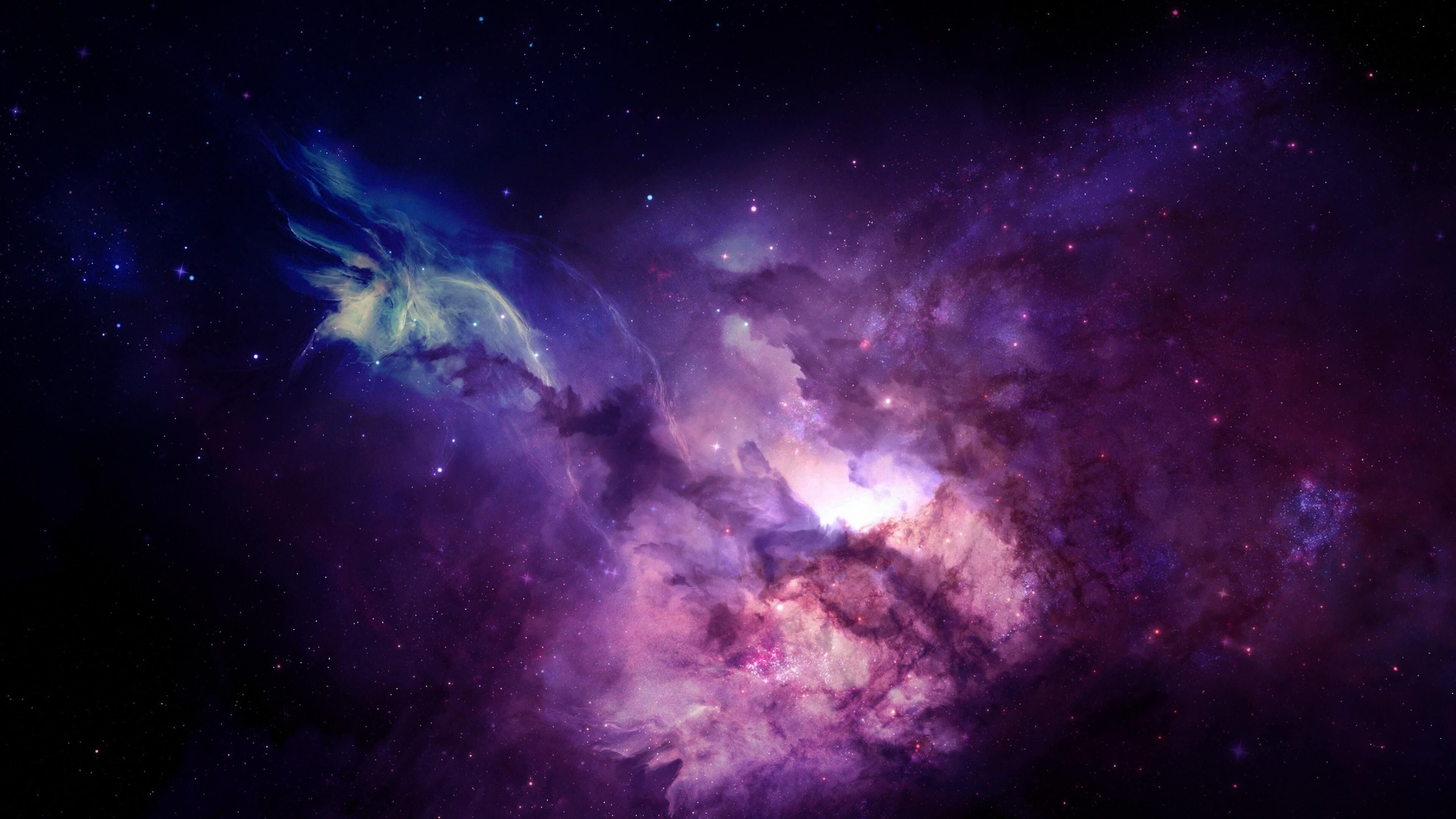 Purple Nebula HD wallpaper for 4K 3840 x 2160 – HDwallpapers.net