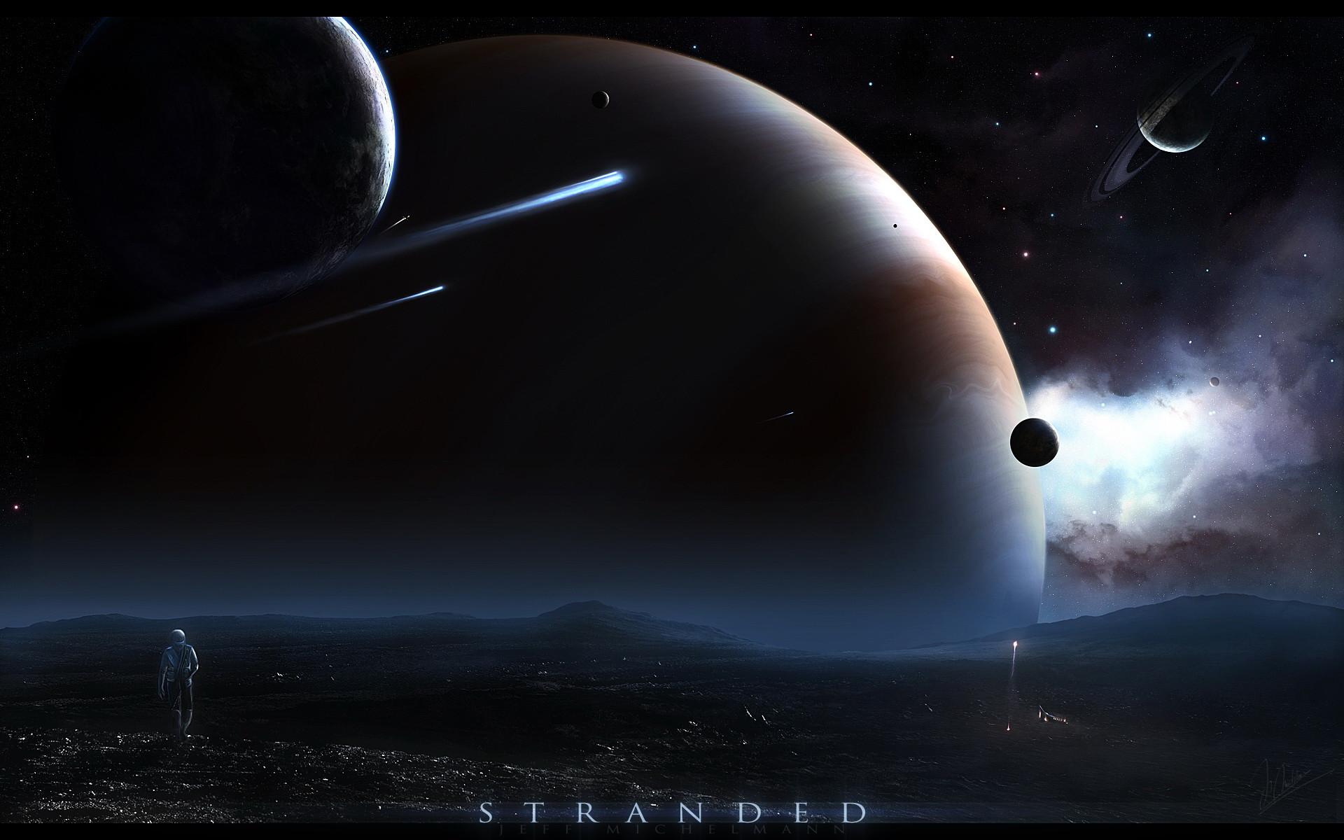fantasy space art wallpaper img9