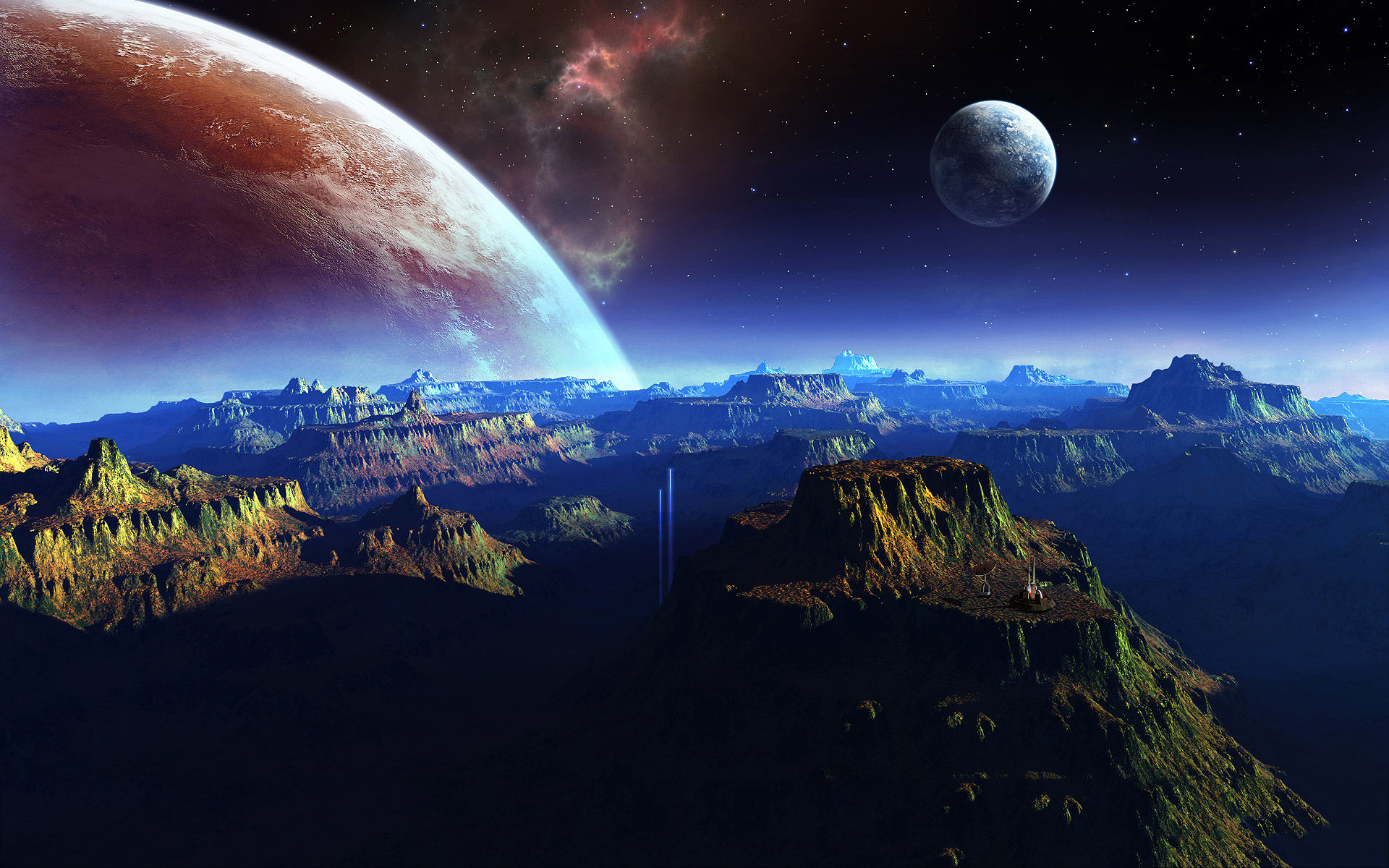 fantasy | Fantasy planet space art Wallpapers Pictures Photos Images