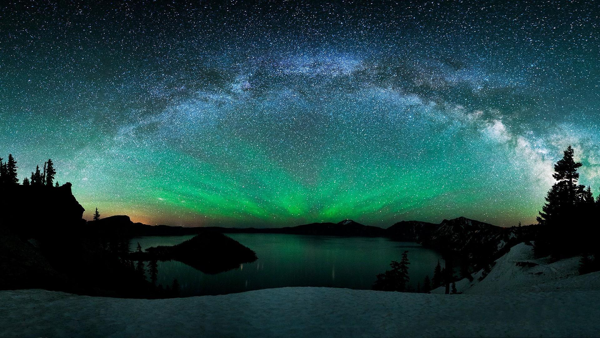 Sky-aurora-stars-and-aurora-backgrounds