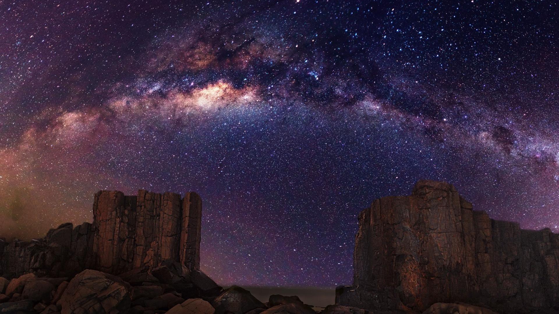 Night sky stars wallpaper   (62138)