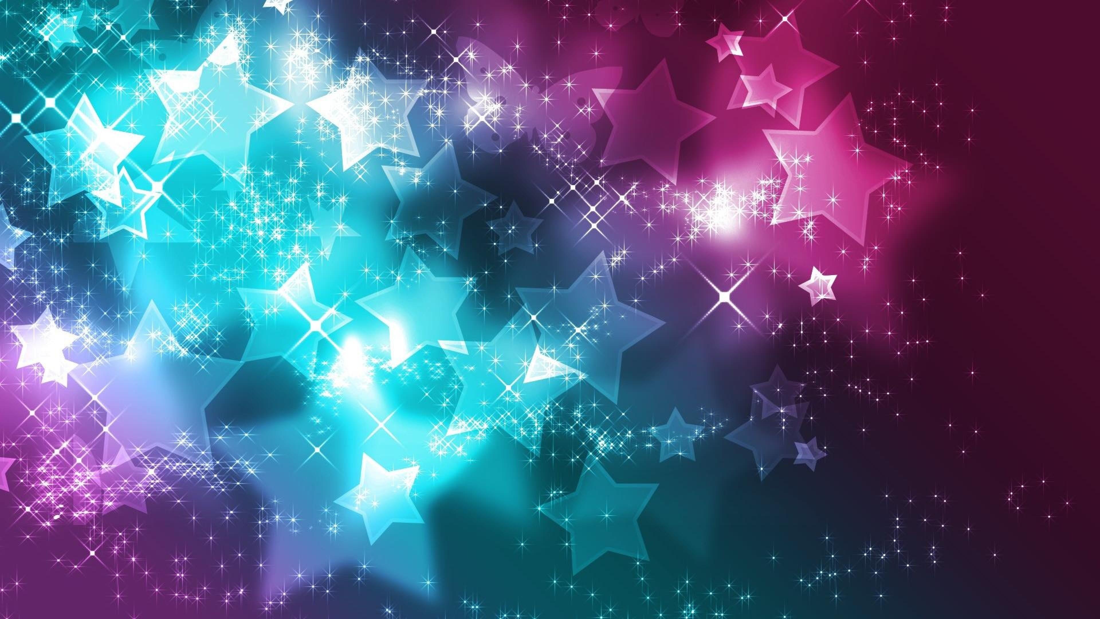 Preview wallpaper stars, backgrounds, glitter, paint 3840×2160