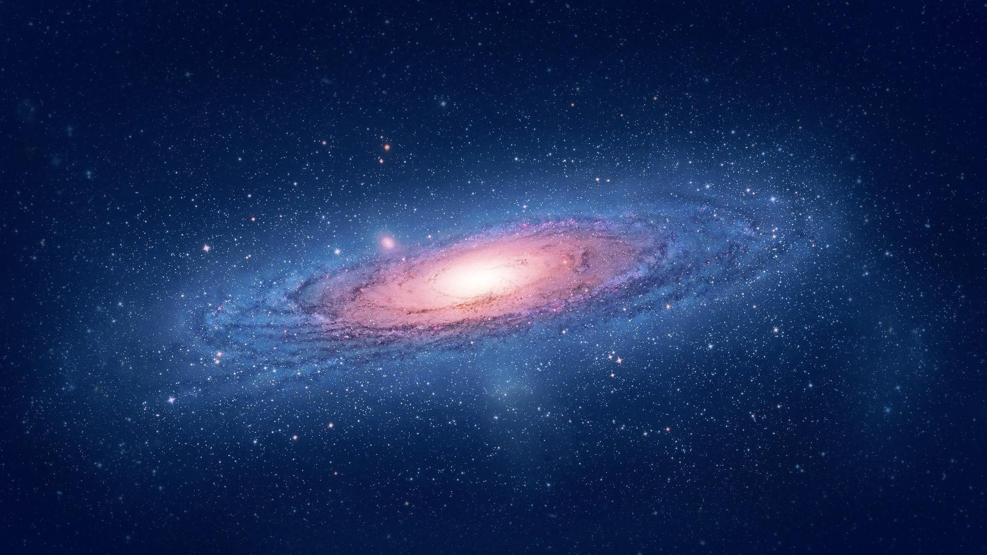 Mac Os X Lion stars, space, galaxy, HD Wallpaper and .