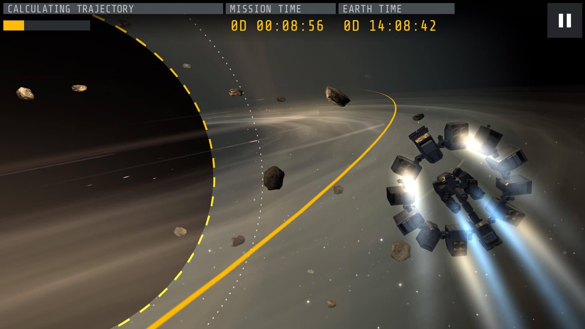 Interstellar Game Screenshot – Black Hole