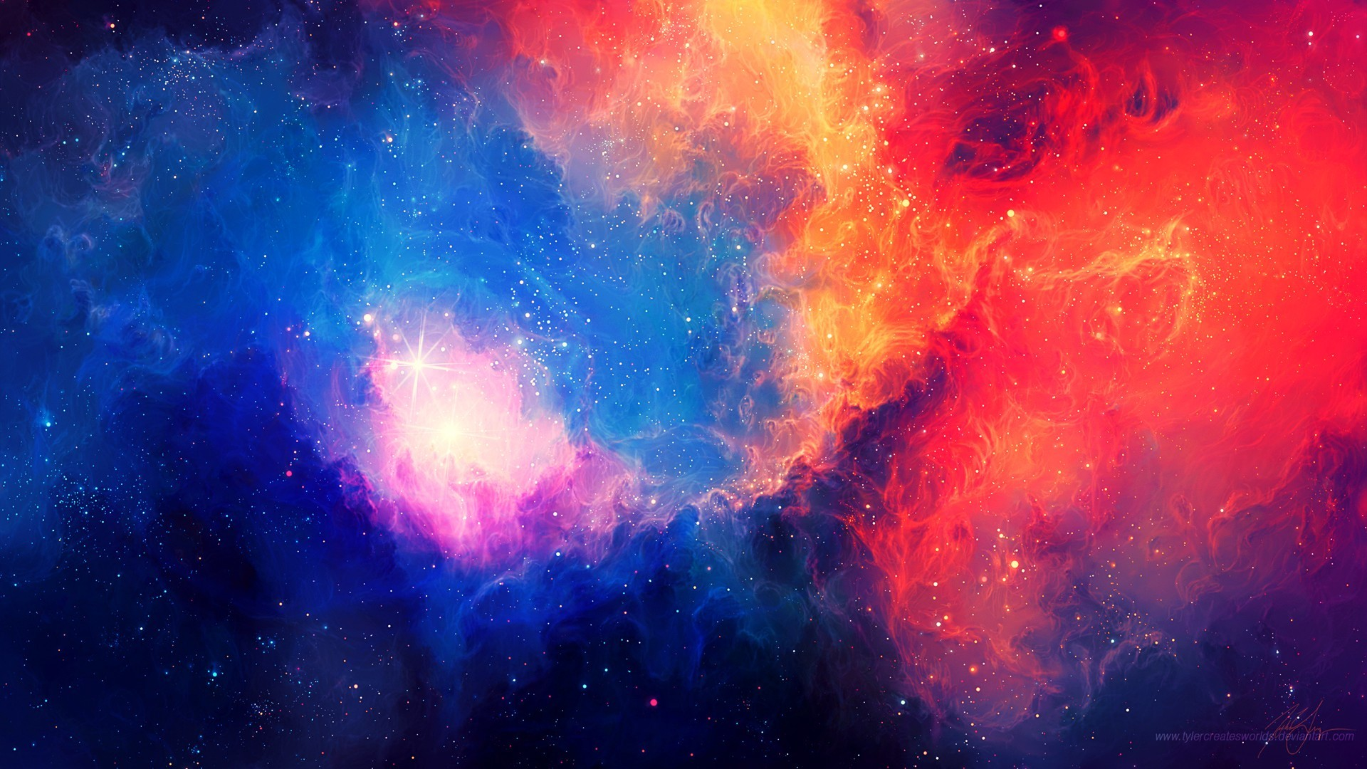 Colorful Space Wallpapers Phone