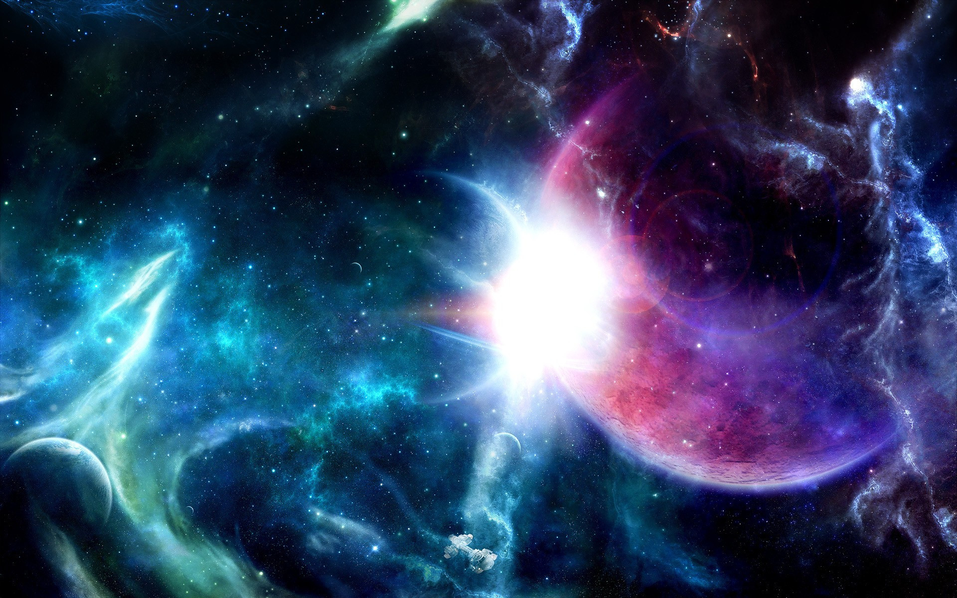 Colorful Space Wallpapers Picture