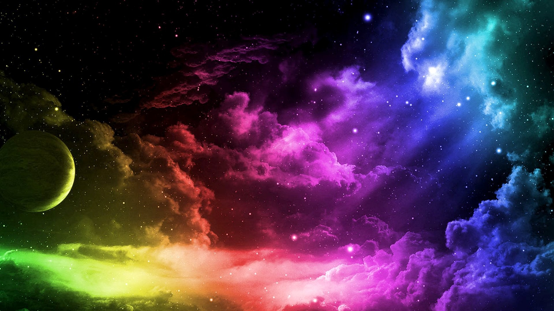 Colorful Outer Space …