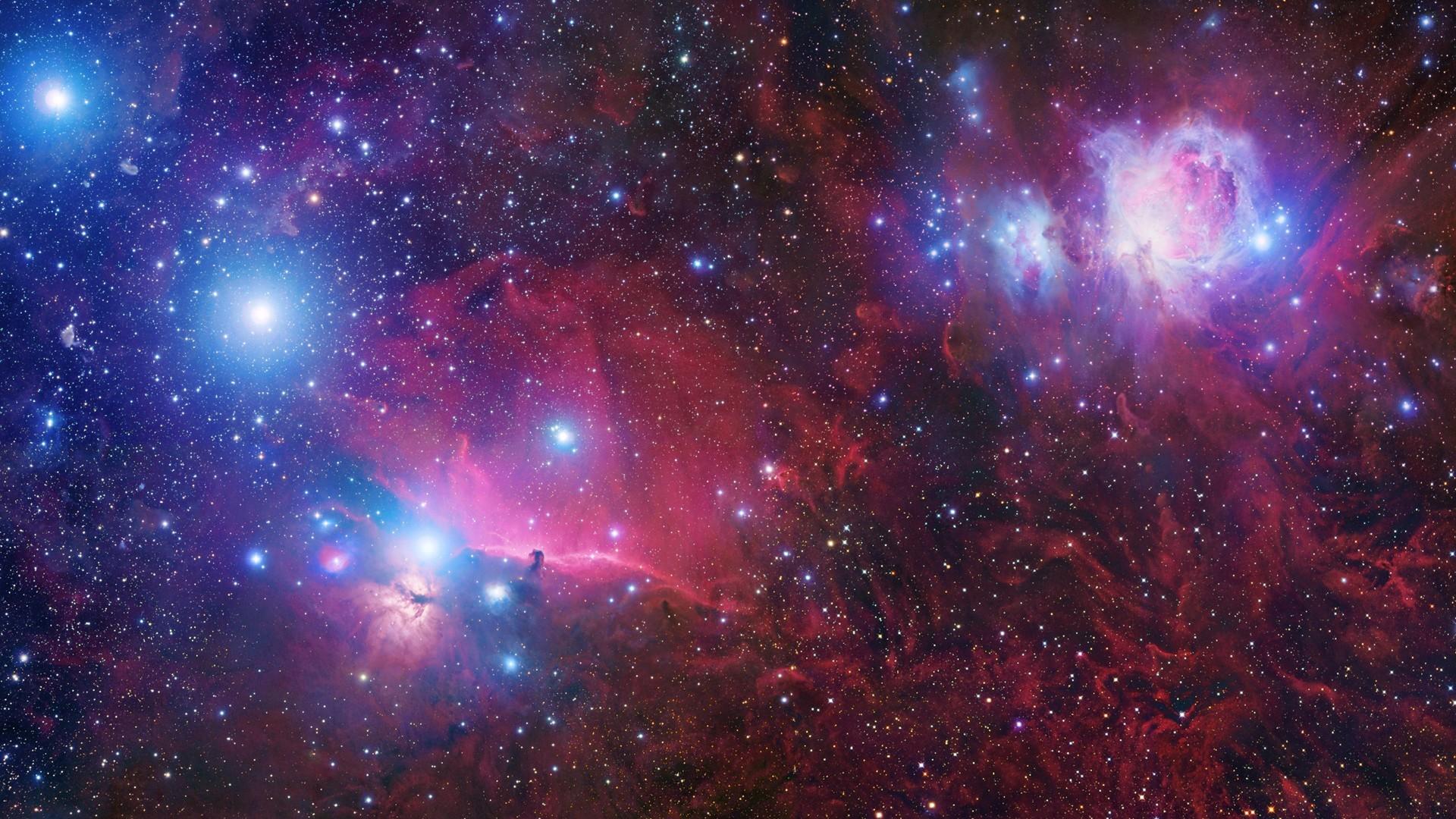 Colorful Hd Space Wallpaper Mobile[1920×1080] via Classy Bro