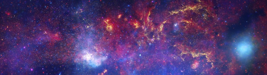 multiple Display, Space, Stars, Colorful, Universe, Galaxy Wallpapers HD /  Desktop and Mobile Backgrounds