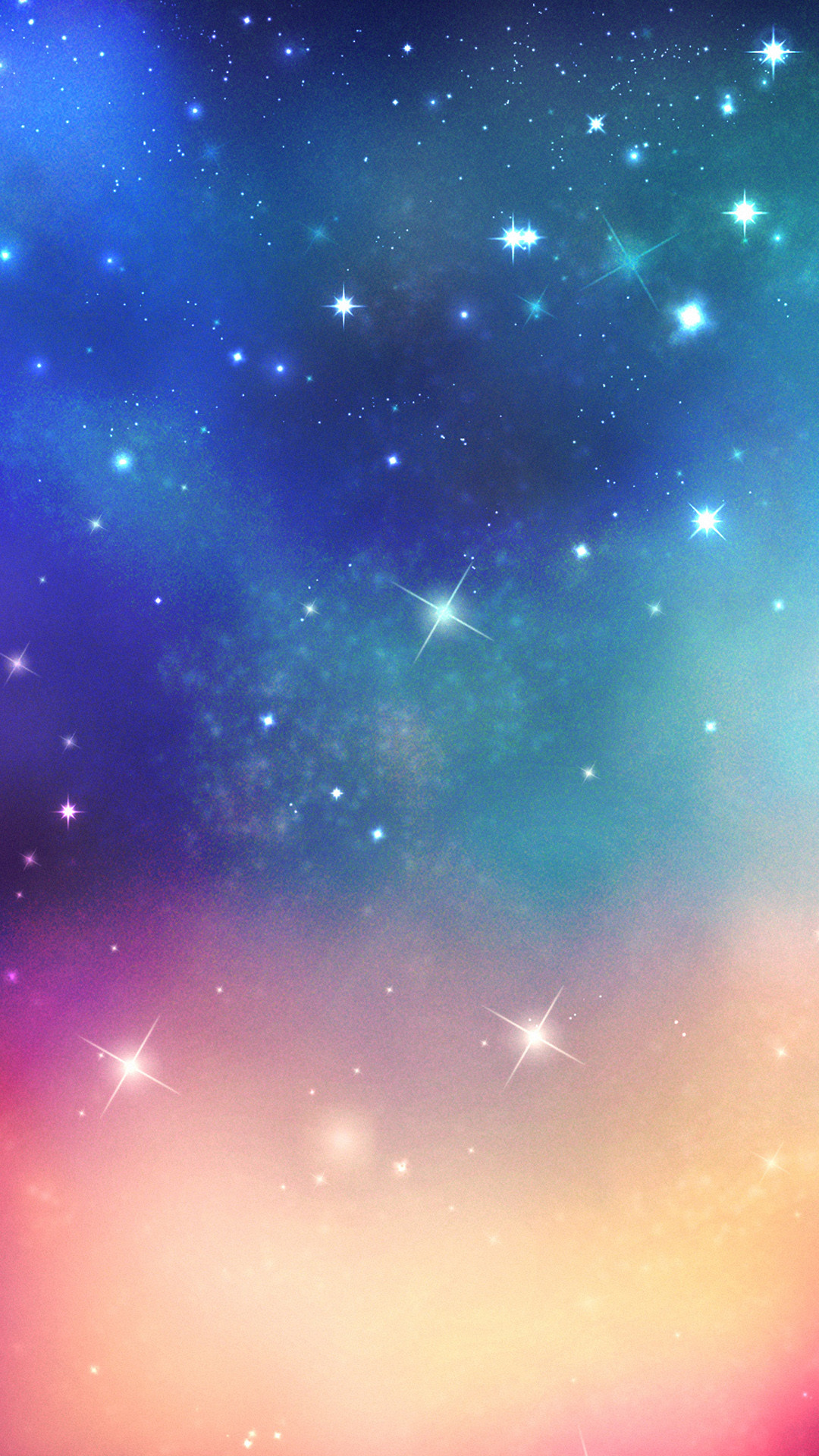 Shiny Fantasy Ouer Space #iPhone #7 #wallpaper