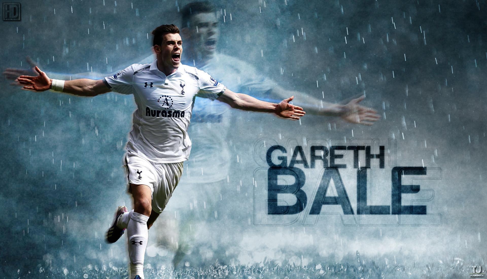 Gareth Bale Tottenham Hotspurs Wallpaper 2014 HD