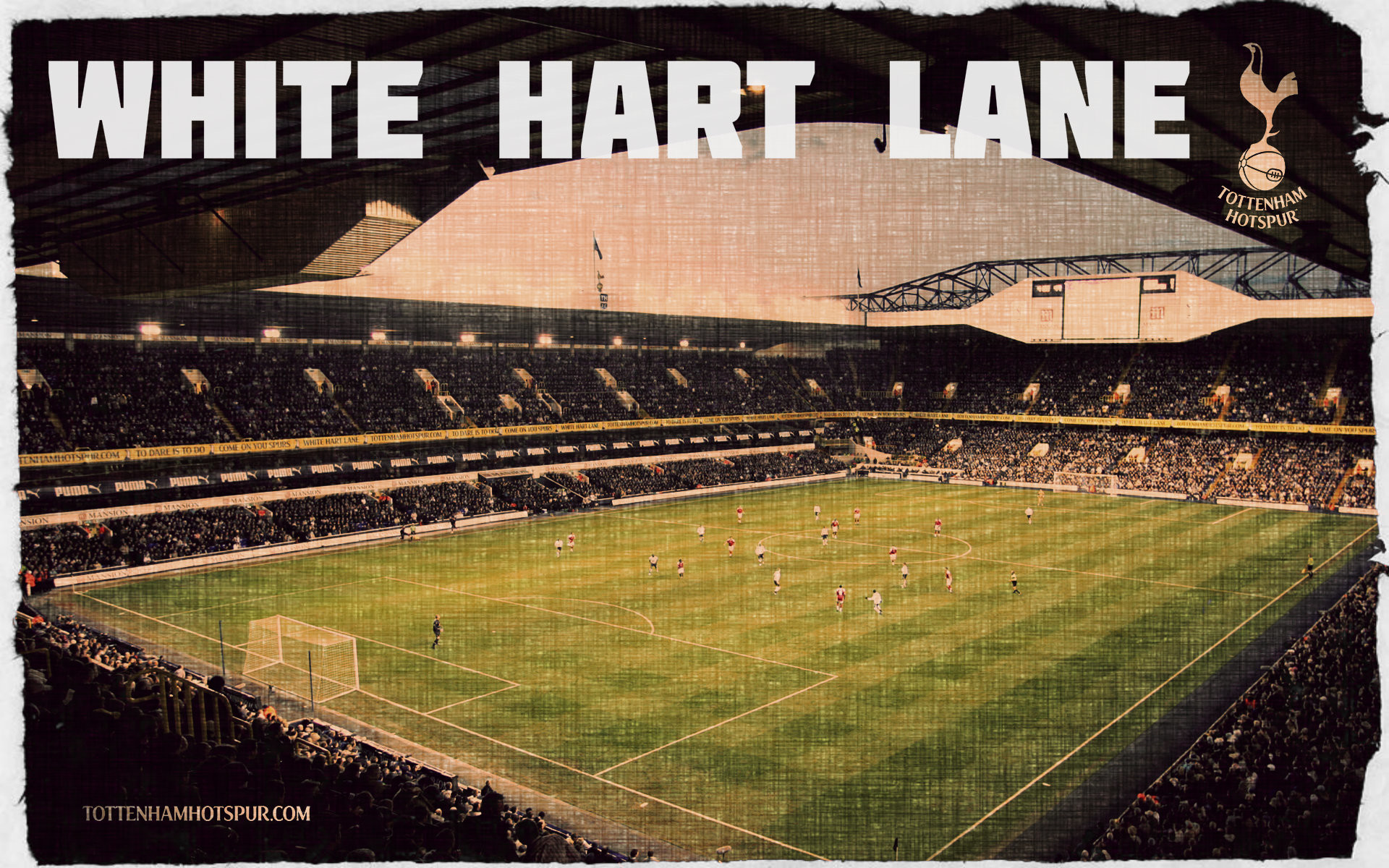 Image – Tottenham Hotspur White Hart Lane wallpaper 001 | Football Wiki |  FANDOM powered by Wikia