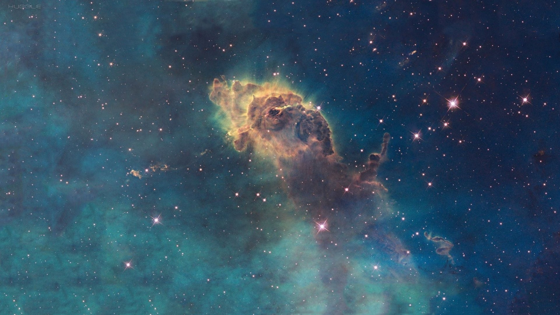 Wallpaper space, stars, nebula, hubble, carina nebula desktop .