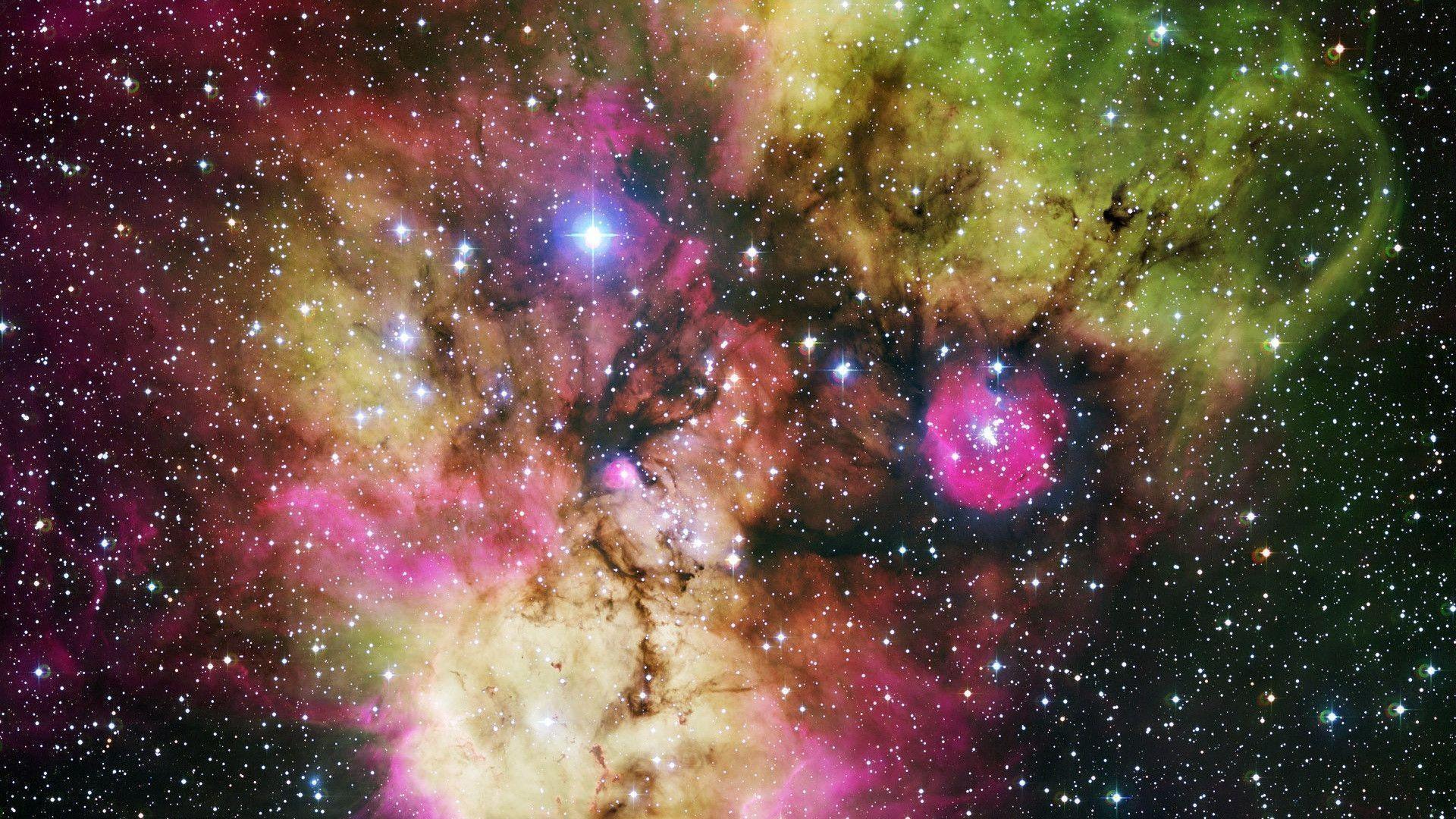 Colorful Galaxy Hubble Wallpaper | resolution wallpaper .