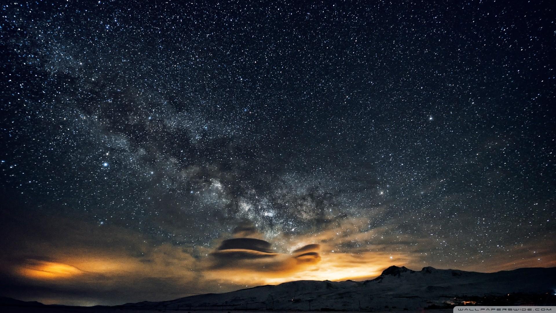 Beautiful night sky in Armenia [Wallpaper] | Reviews, news, tips, and