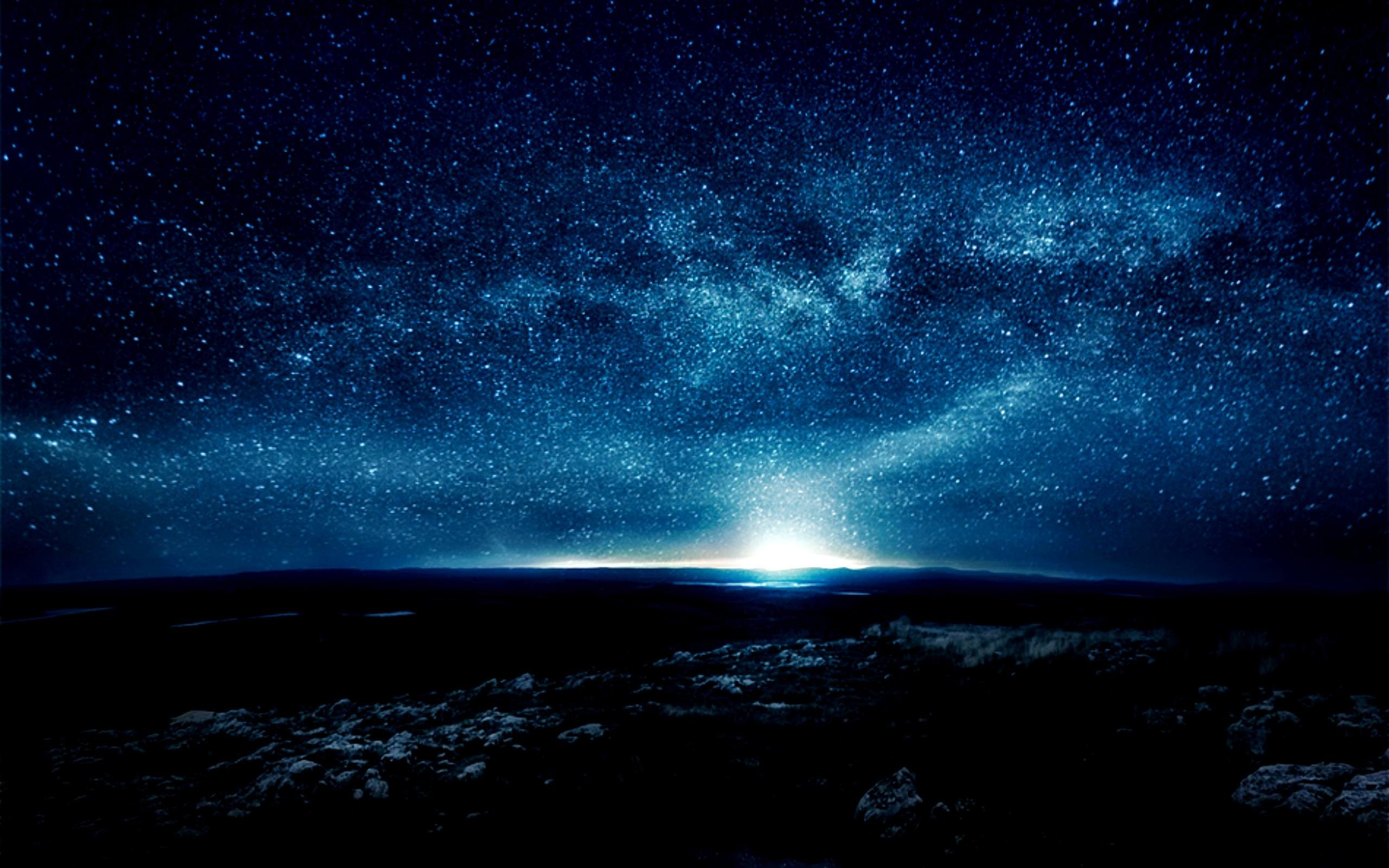 Wallpapers For > Beautiful Night Sky Backgrounds