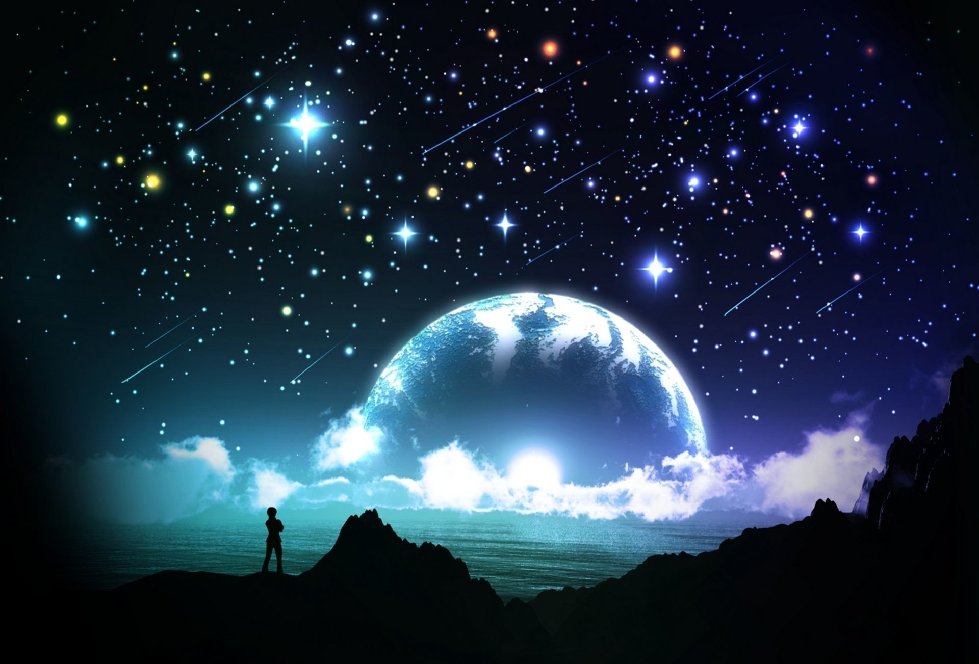 pin Night Sky clipart star hd #7