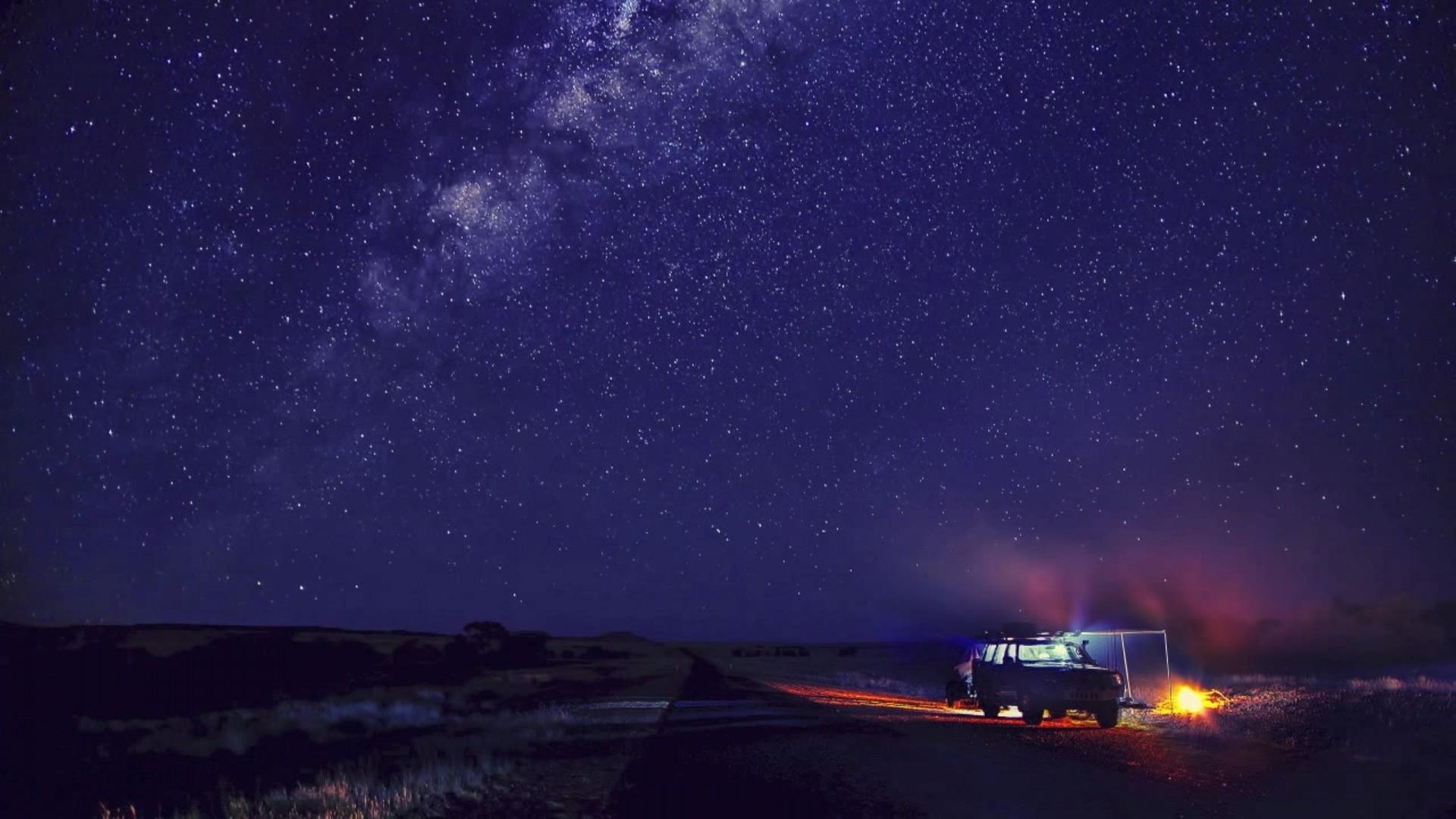 Starry Night Sky Wallpaper – WallpaperSafari