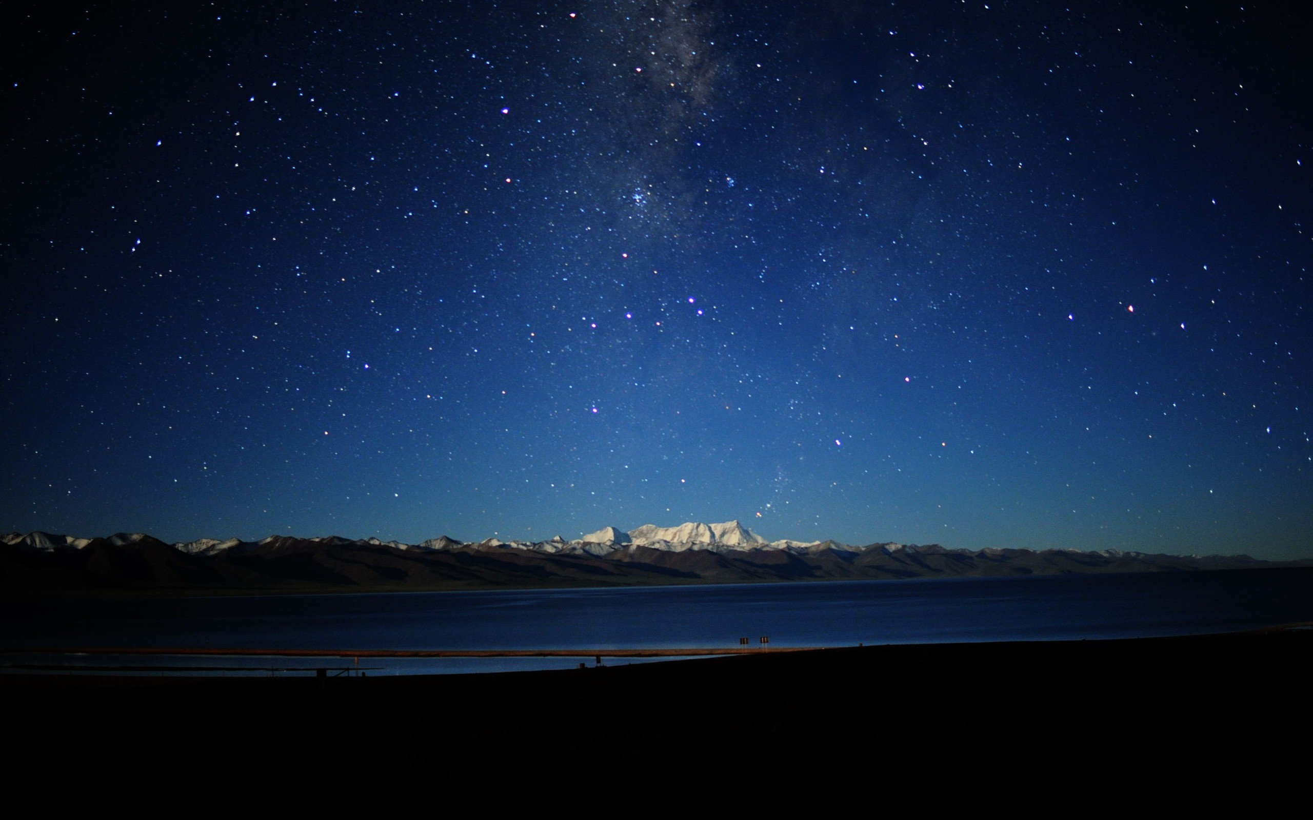 … Night Sky Background High resolution night sky background wallpaper  free powerpoint background