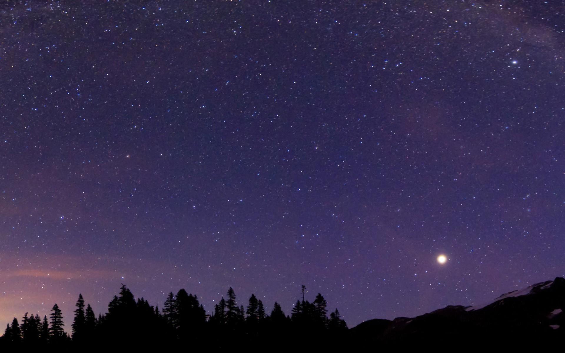 Night Sky Wallpaper | Free Wallpaper World