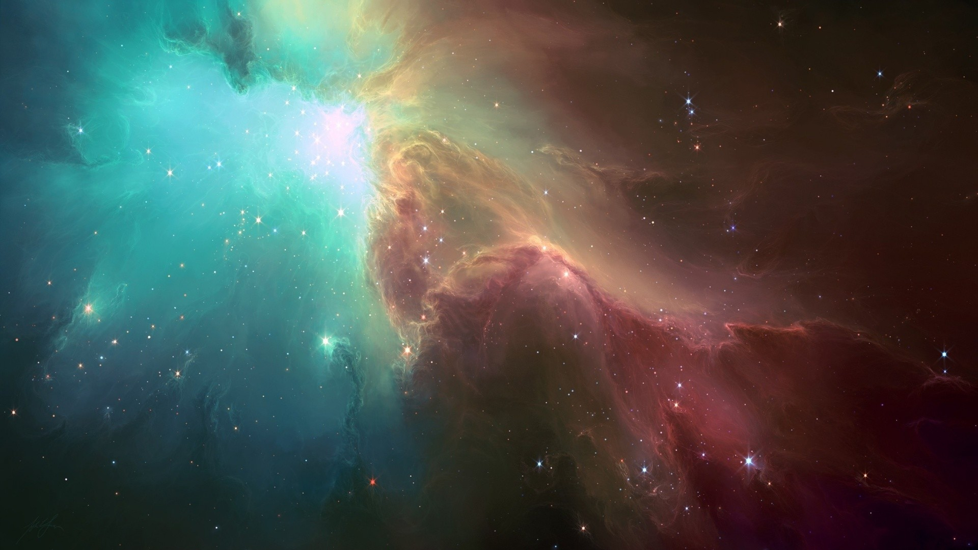 The Ghost Nebula. How to set wallpaper on your desktop? Click the  download link from above and set the wallpaper on the desktop from your OS.