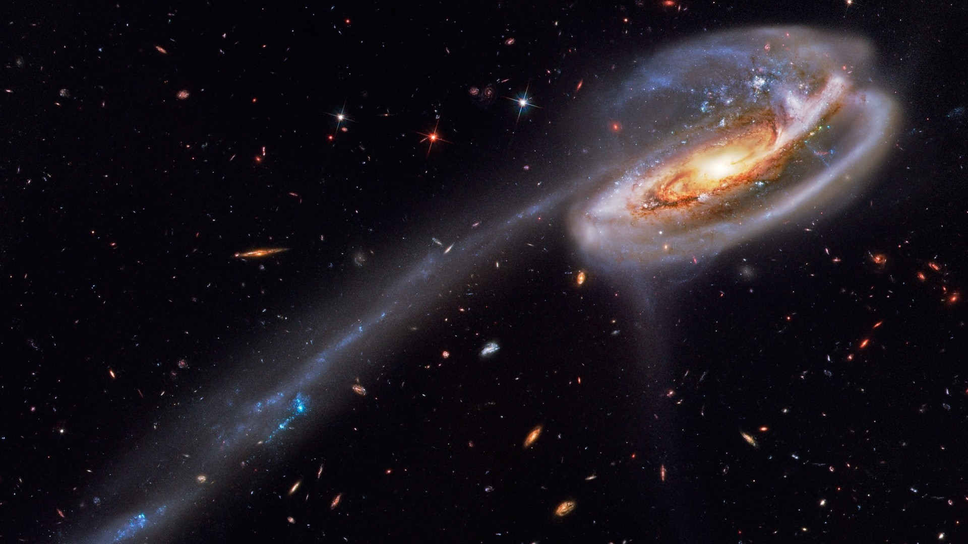 Preview wallpaper stars, space, nebula 1920×1080