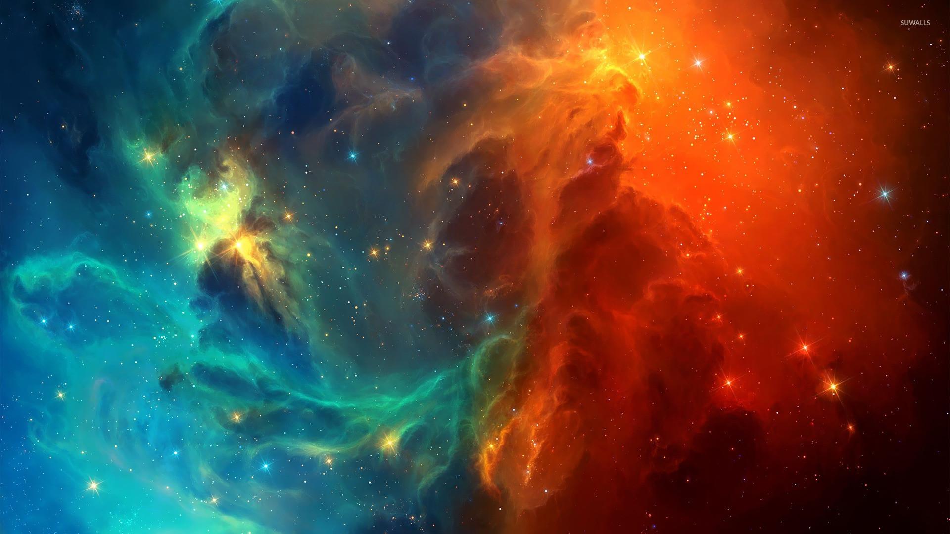 Colorful nebula [2] wallpaper