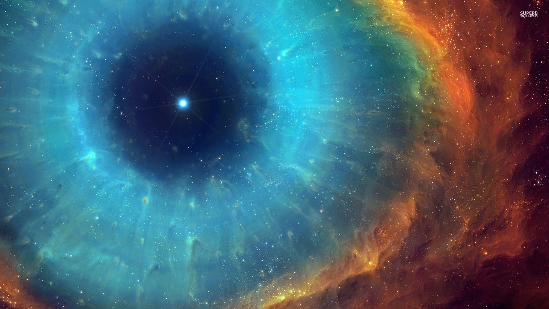 Eye of God Helix nebula wallpaper – Space wallpapers – #48629