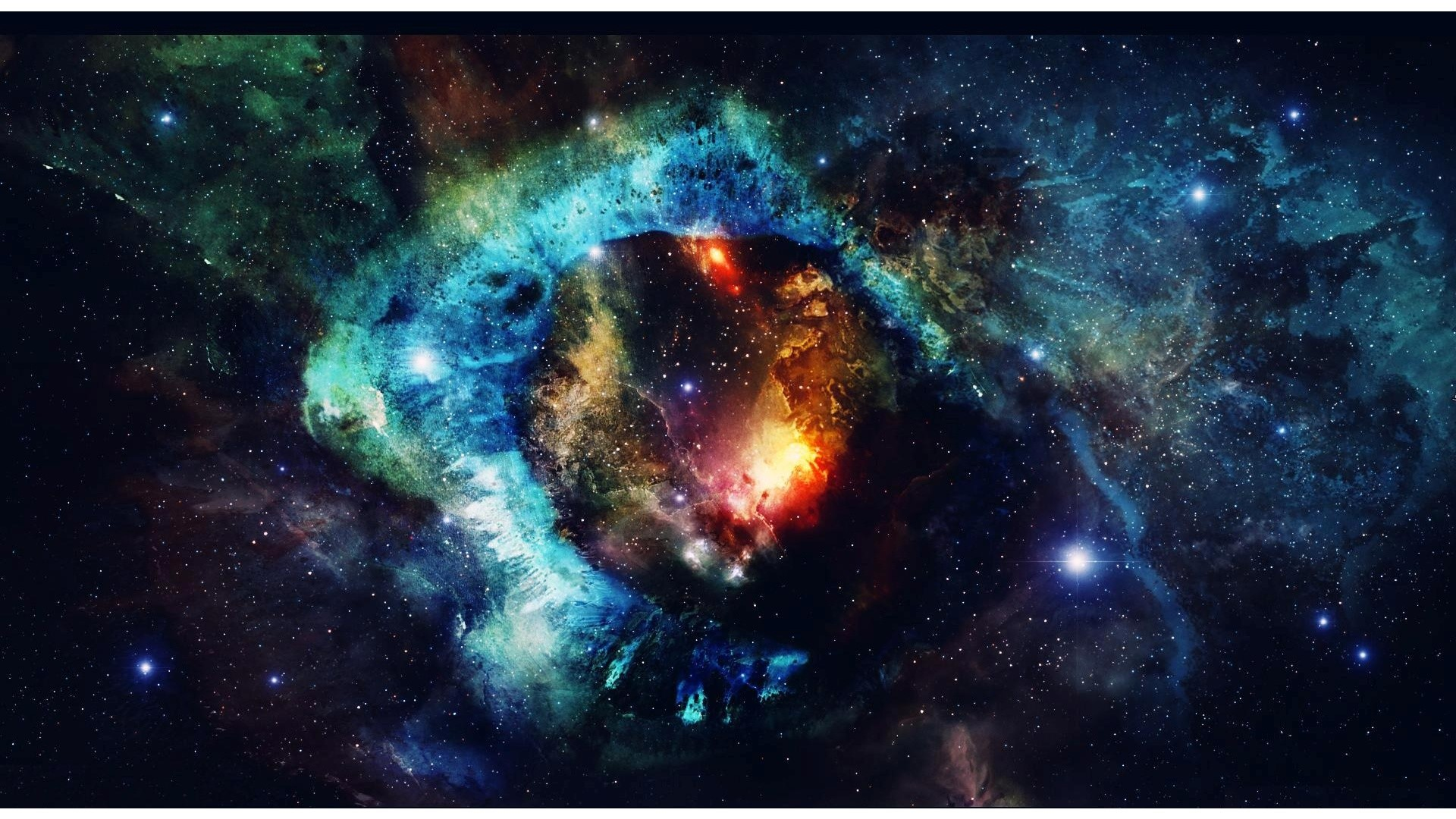 Nebula And Stars In Universe