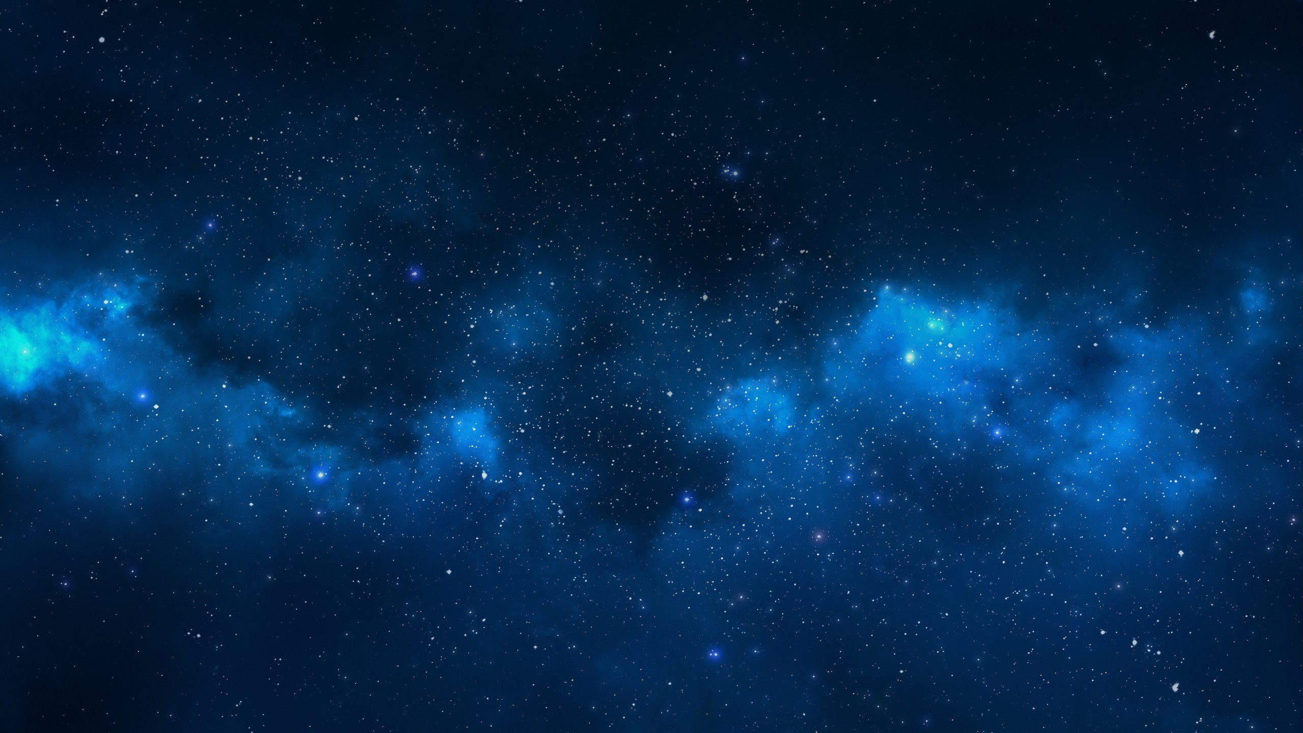 Blue Galaxy Stars Wallpaper (page 2) – Pics about space