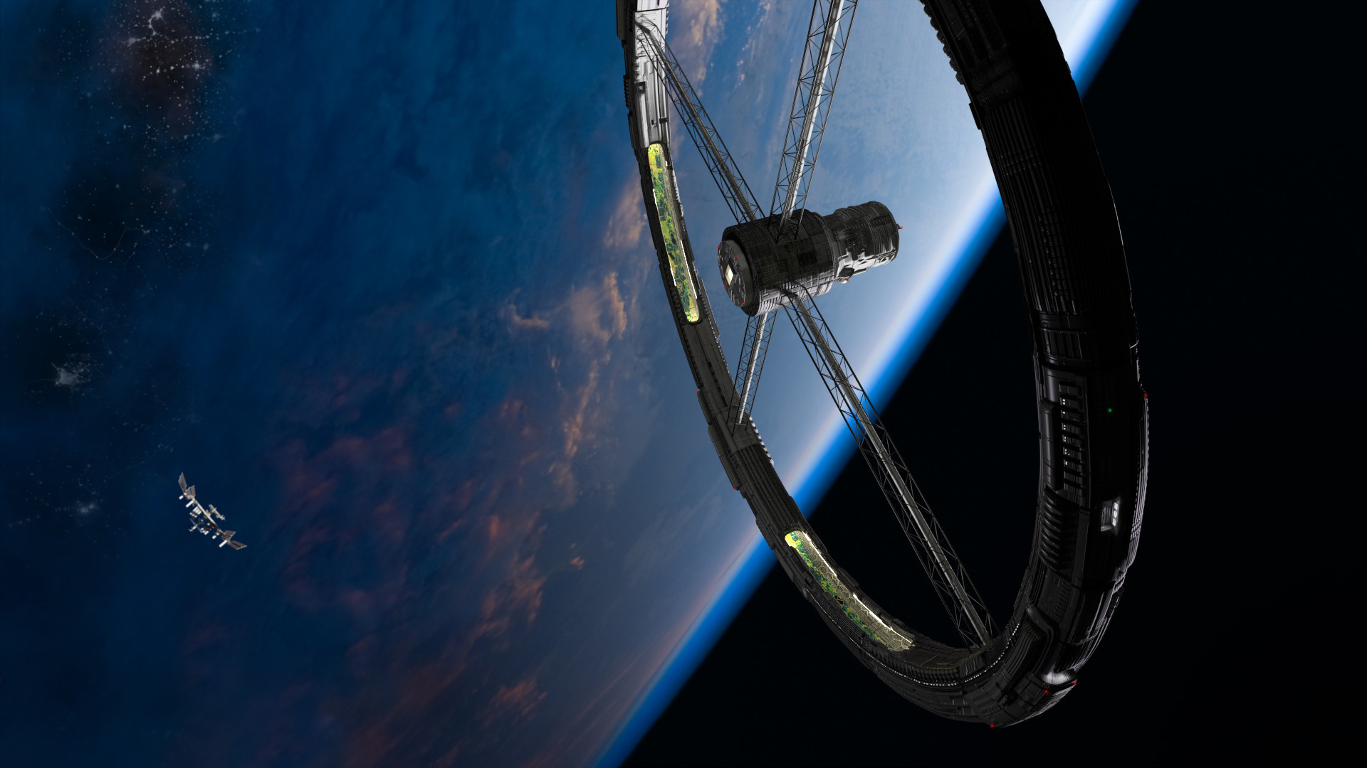 Daily Wallpaper: International Space Stations   I Like To Waste My Time