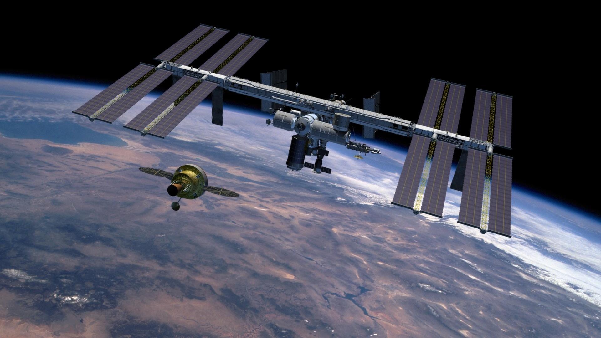 Nasa Orion Crew Exploration Vehicle. international space station …
