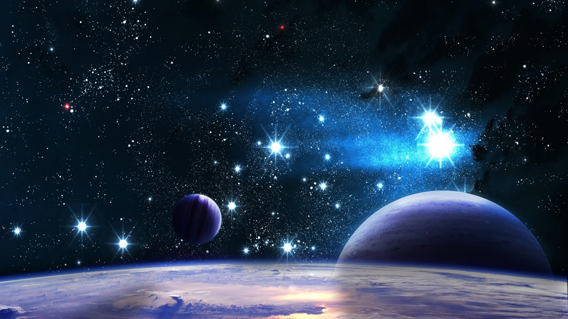 universe, nebula, explosion · sky, universe, stars