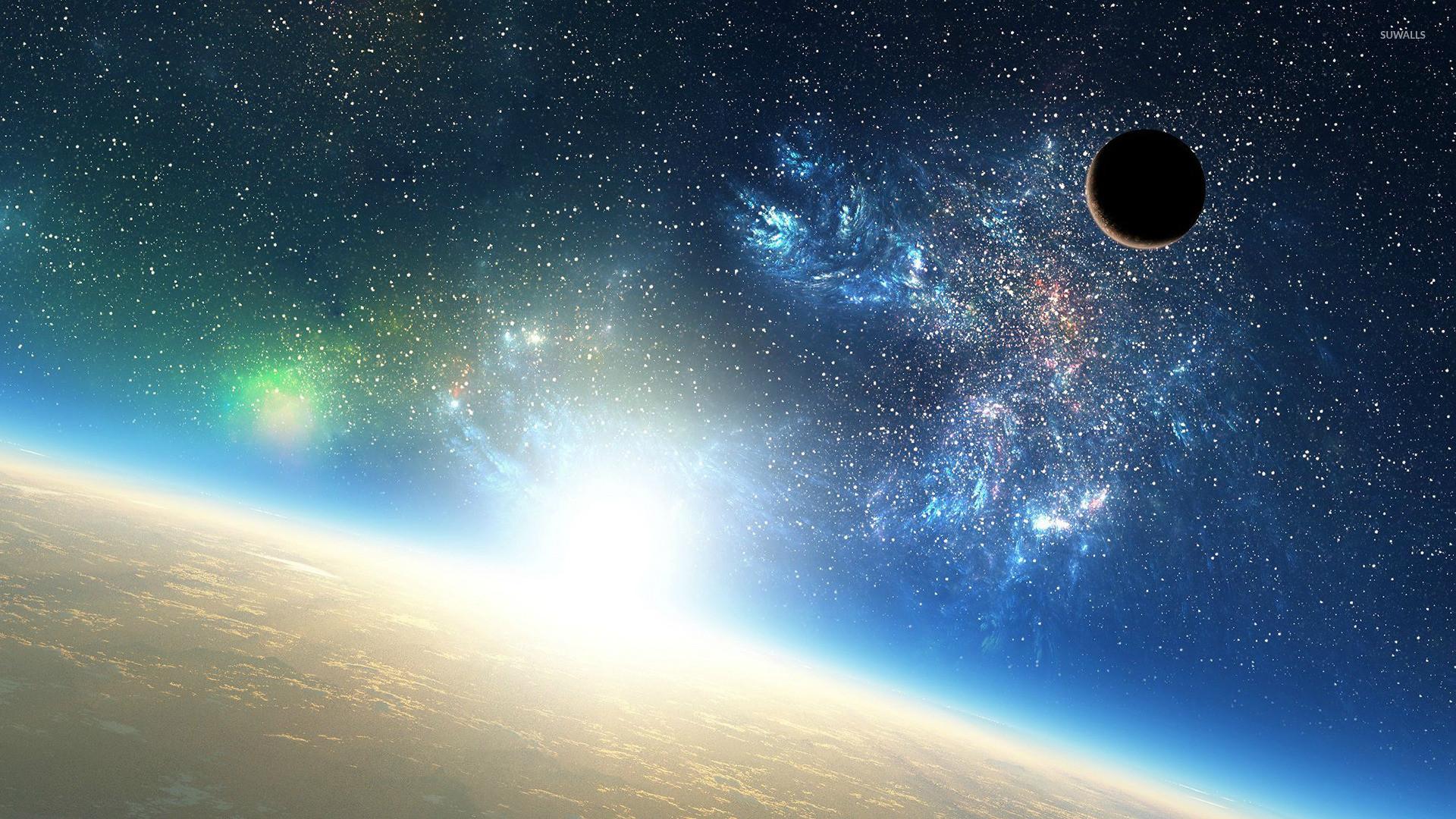 Planetary sunrise wallpaper jpg