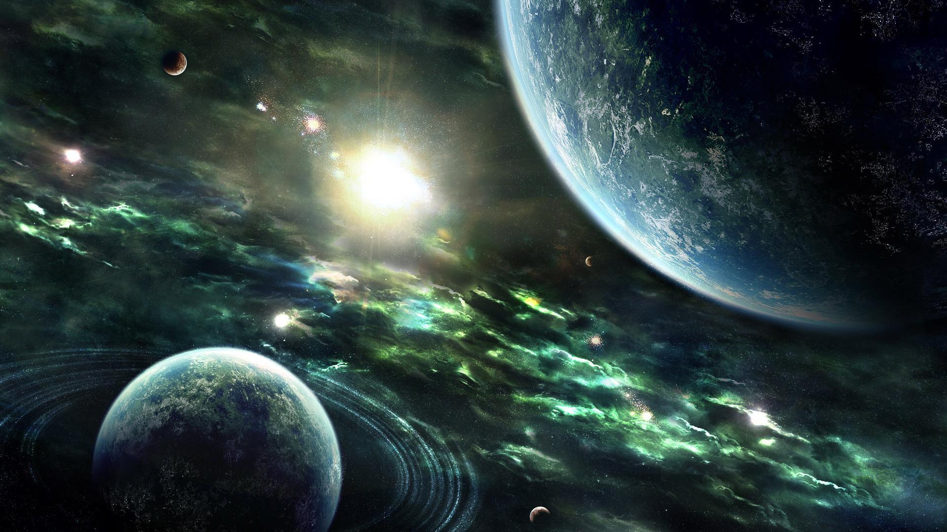 Space Wallpaper HD Widescreen