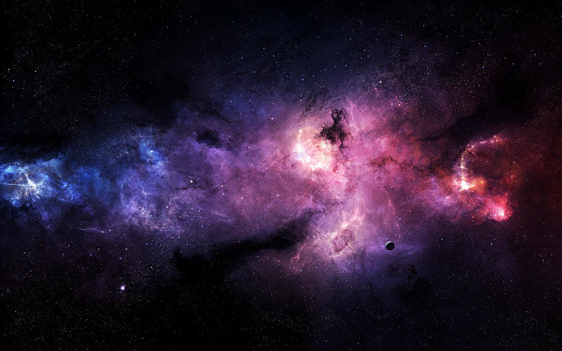 Download Pink and Purple Stars In Space HD Wallpaper #3249 – HD .