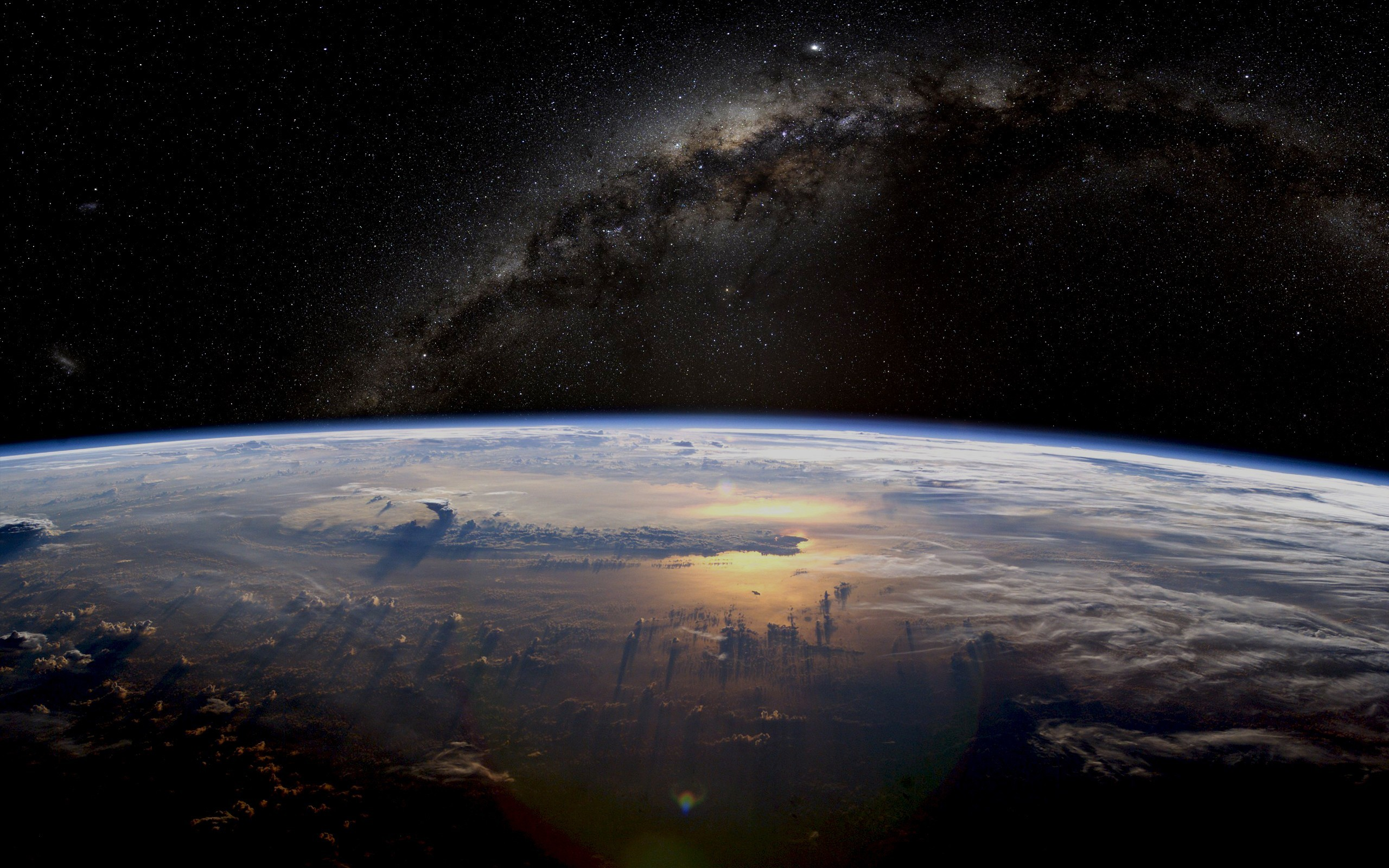 Earth From Space Hd wallpaper. 2560×1600