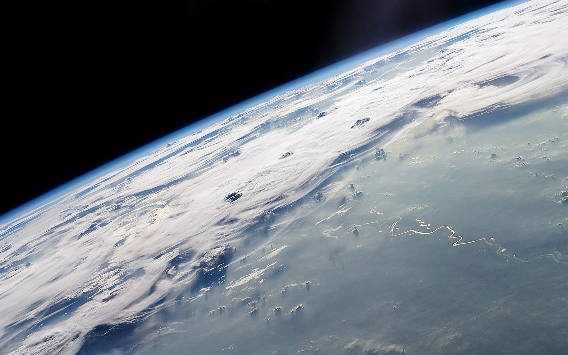 Earth from space wallpapers and stock photos