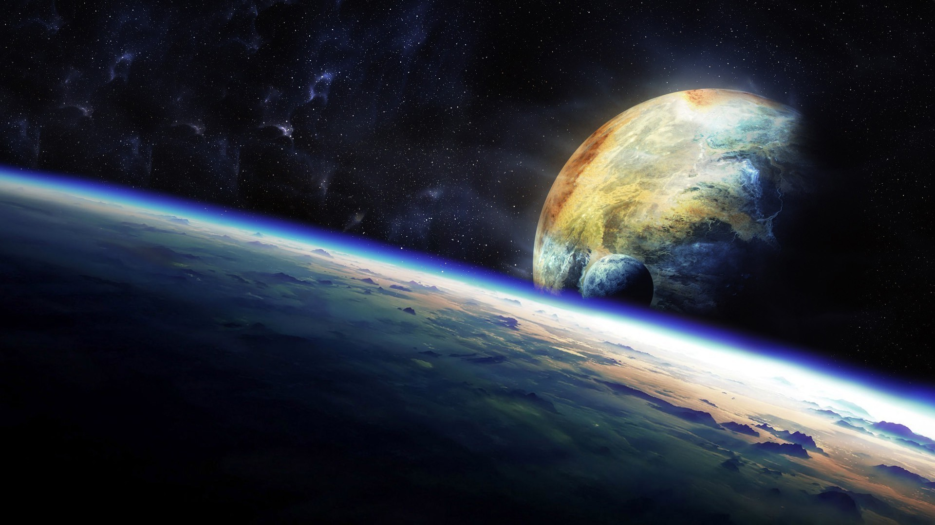 space, Earth Wallpapers HD / Desktop and Mobile Backgrounds