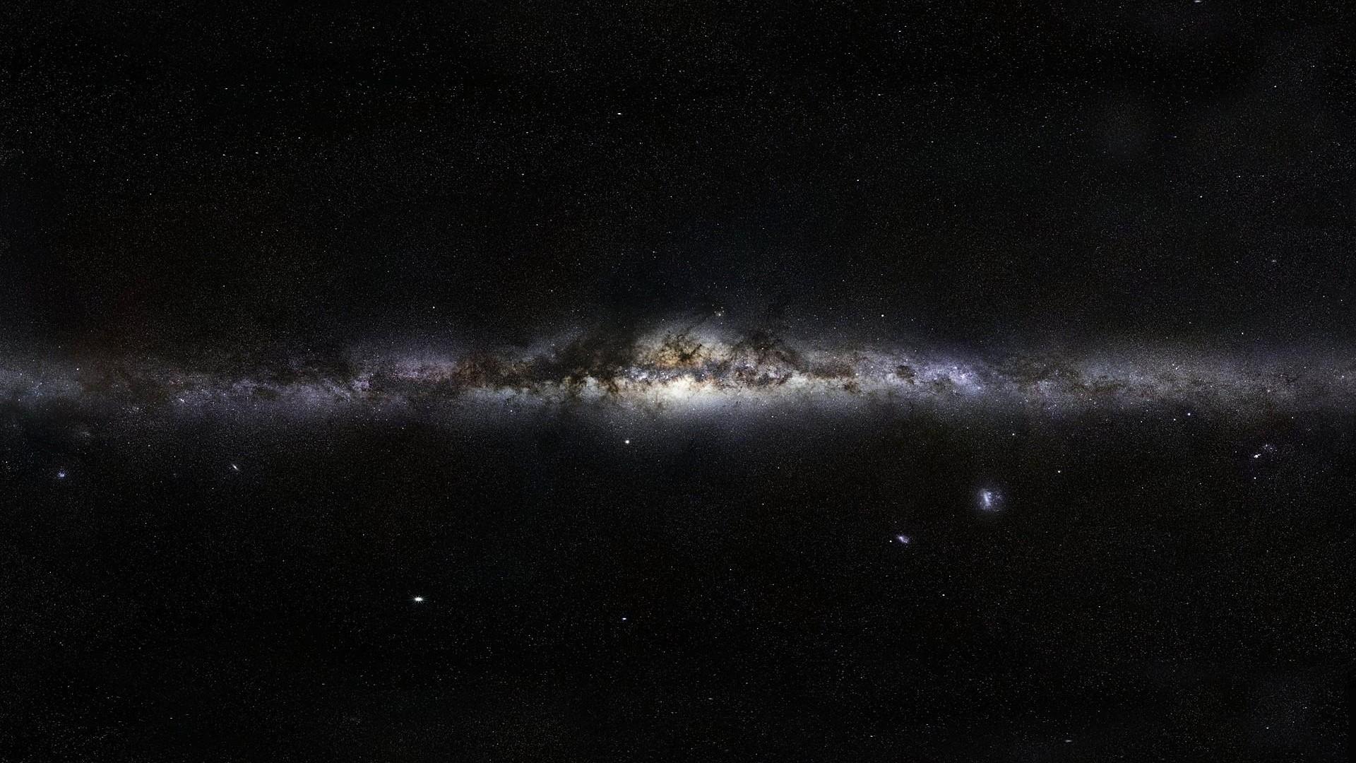 Preview wallpaper milky way, stars, space, nebula 1920×1080