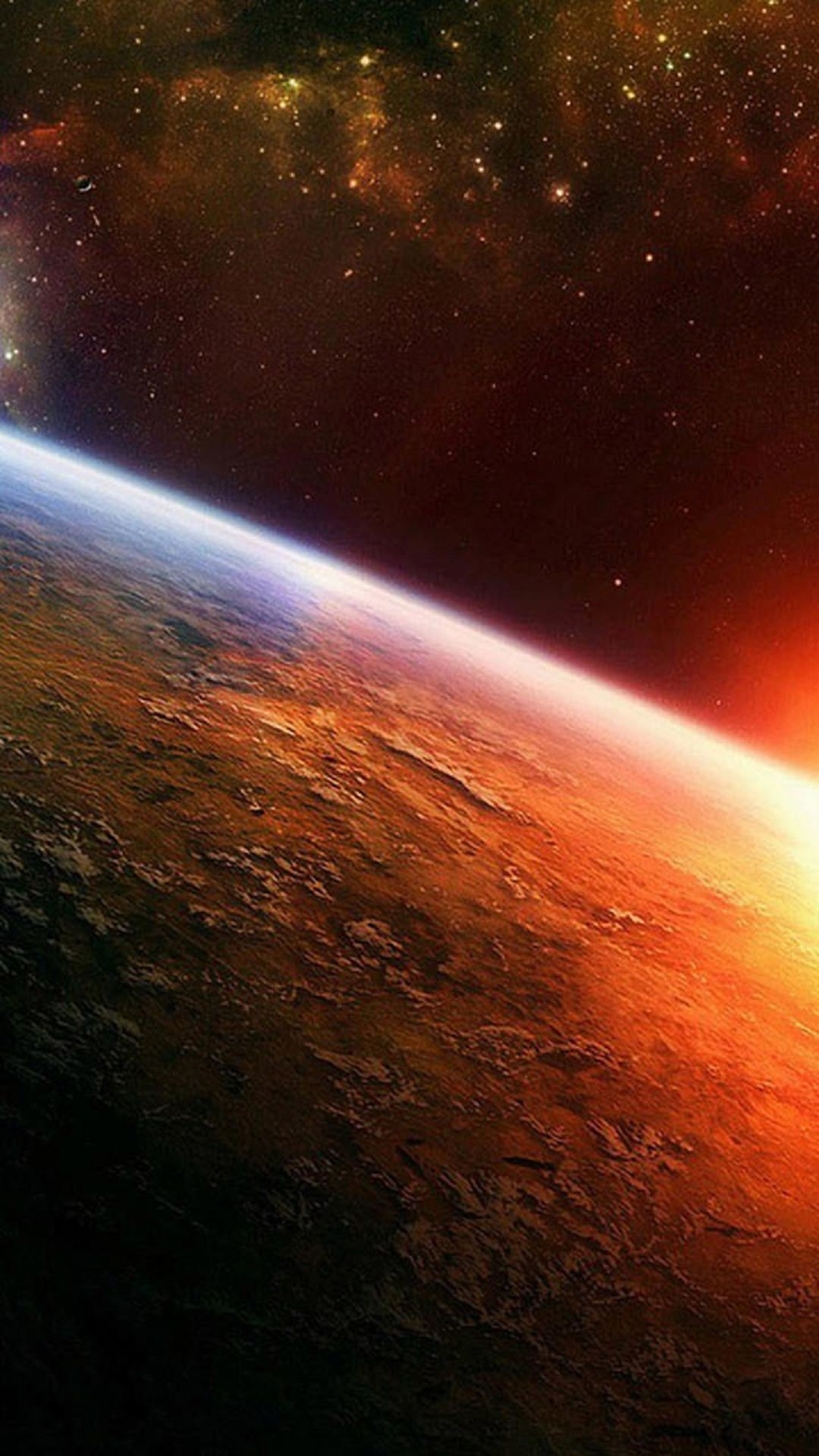 Earth From Space iPhone 6 Plus HD Wallpaper …