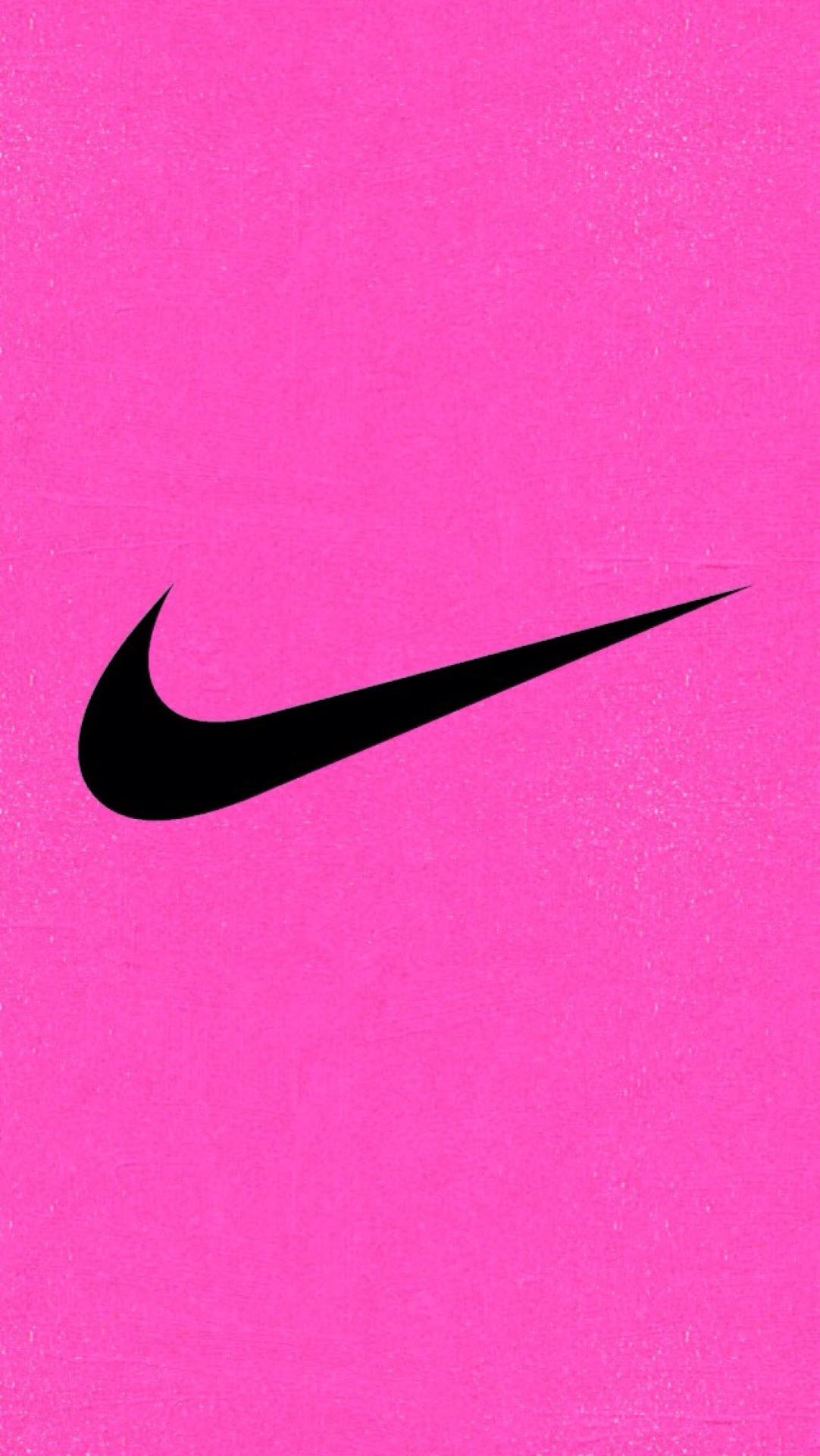 Nike nike wallpaper pink glitter nikelogokid.tumblr.com