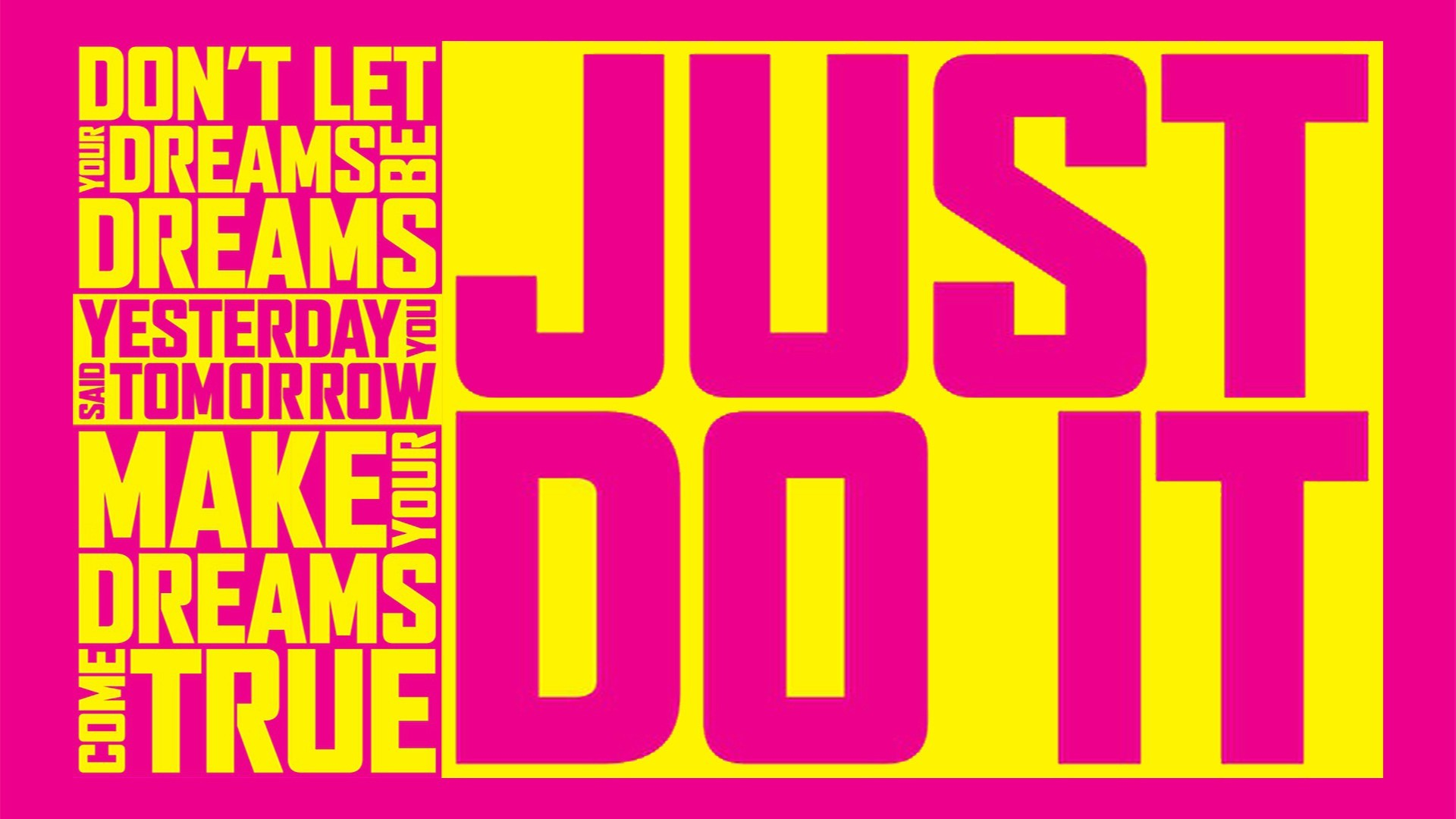 Nike Just Do It Pink Wallpapers Background : Sports Wallpaper .