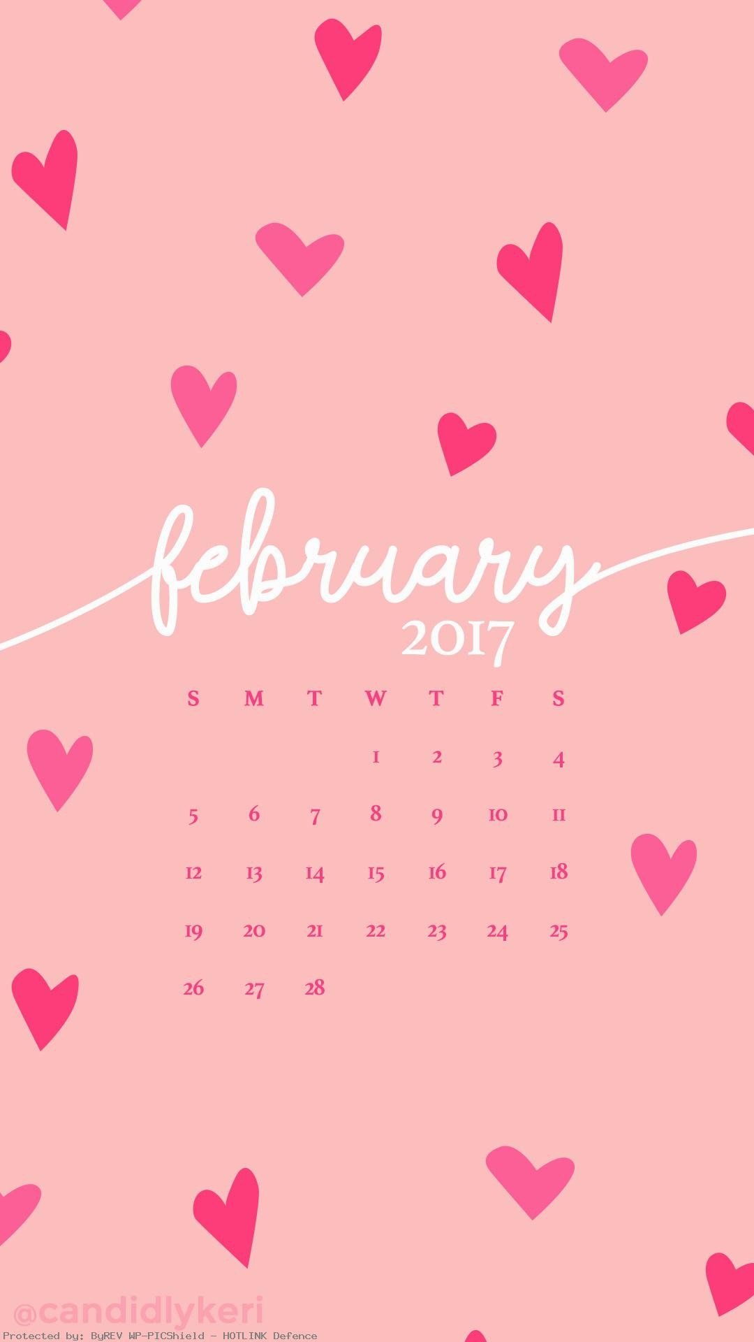 Pink-hearts-February-calendar-you-can-download-for-
