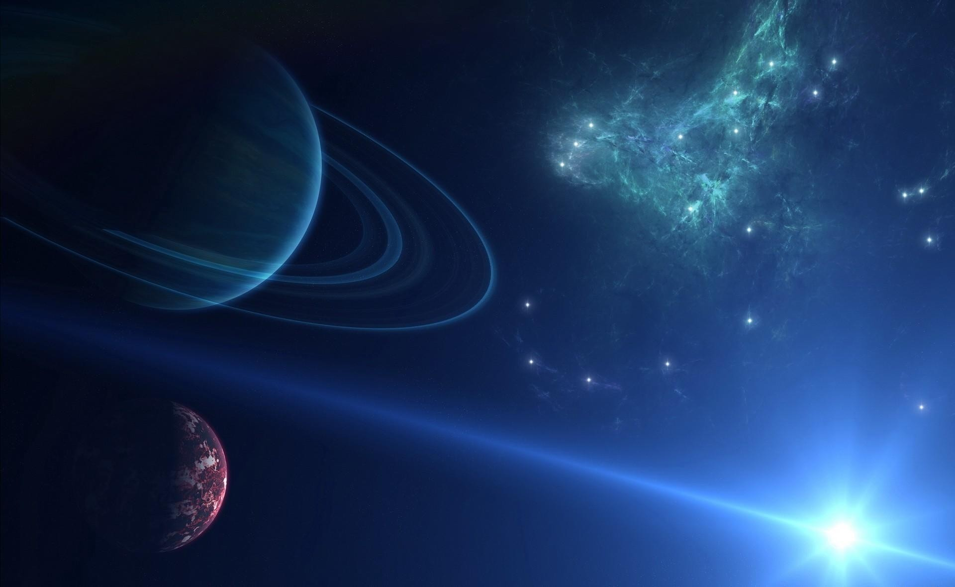 wallpaper splash of nova in deep space.