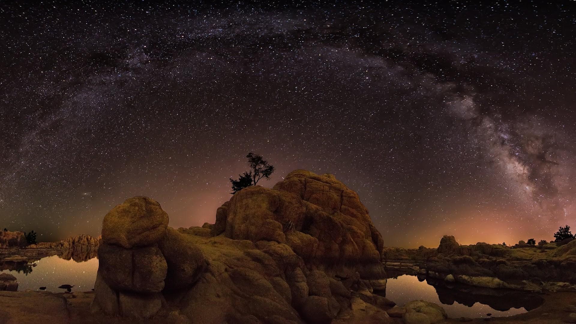 4K HD Wallpaper: Milky Way 2014