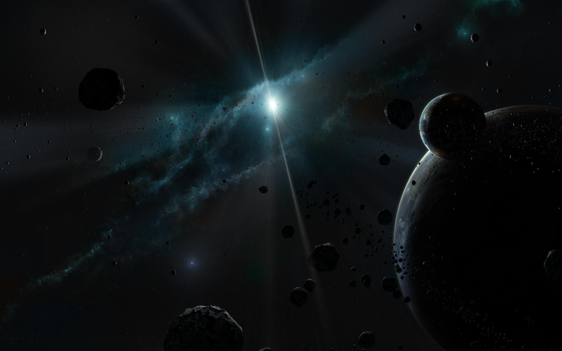 Dark Space Wallpaper