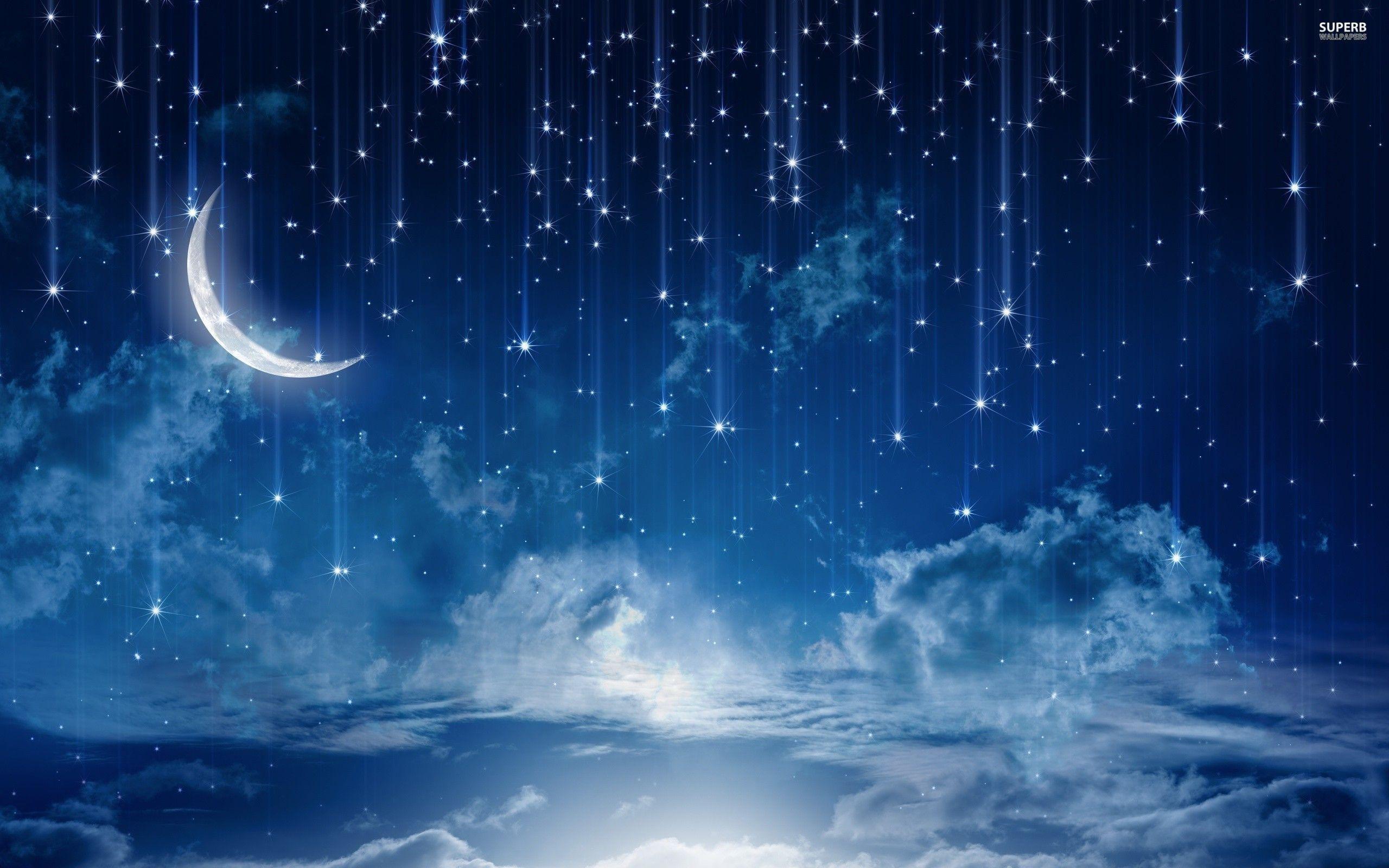free hd full moon stars wallpapers download | Arte | Pinterest .