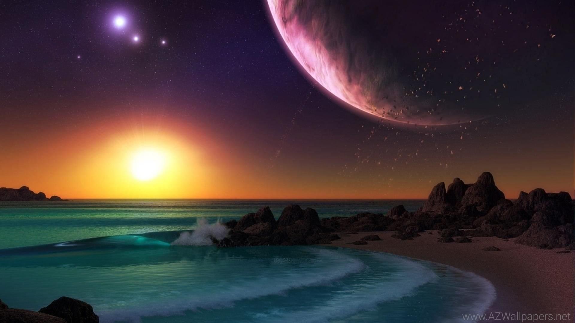 <b>Moon</b> night <b>beach</b