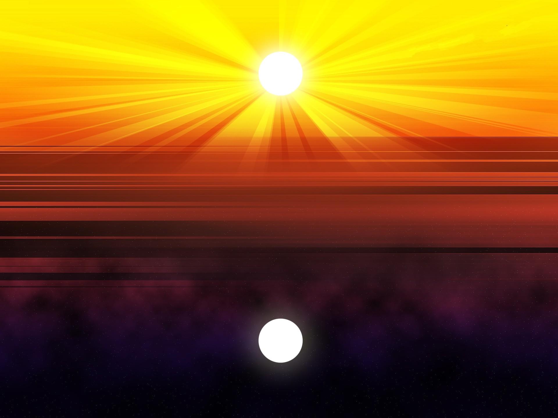 Sun Moon Stars Desktop Image. HD Sun Moon Stars Image. Full HD Sun .